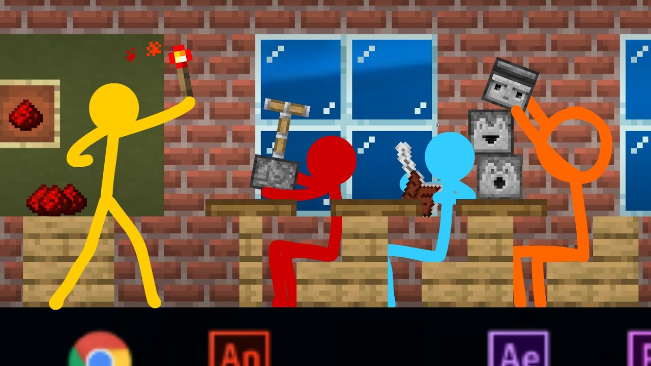Download Redstone Academy - Animation vs. Minecraft Shorts Ep 15