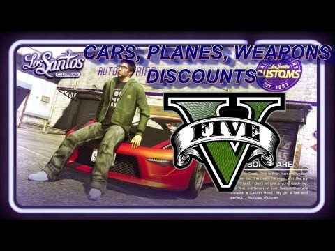 GTA 5 Car, Weapons, Plane Discounts! Life Invader VGG