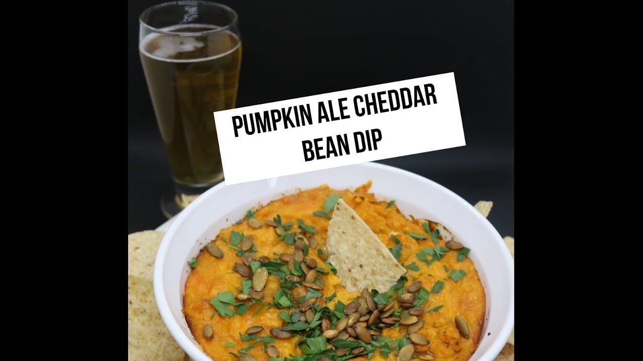 Pumpkin Ale Cheddar & White Bean Dip