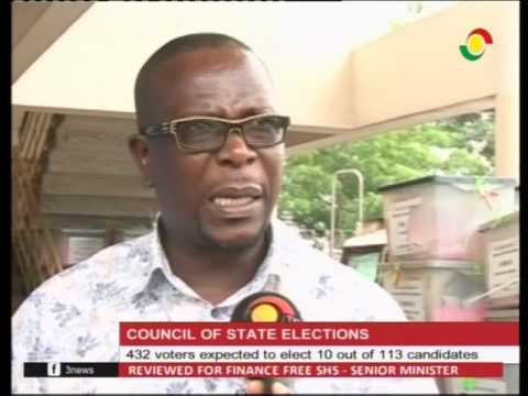 432 voters expected to elect 10 out of 113 council of state candidates -15/2/2017