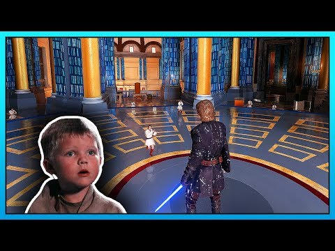 Youngling Hunt Mode in Star Wars Battlefront 2 - Mod Gameplay