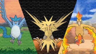 Pokemon X and Y - How To Find The Legendary Birds Easy