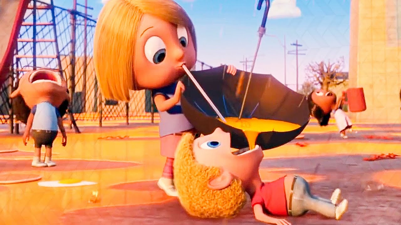 Download CLOUDY WITH A CHANCE OF MEATBALLS All Movie Clips (2009)