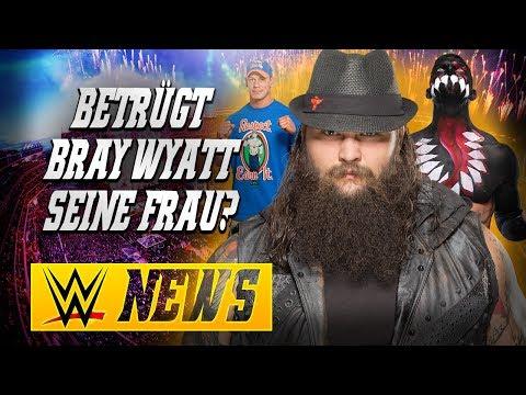 Betrügt Bray Wyatt seine Frau?, John Cena muss RAW helfen, Paige Comeback | WWE NEWS 43/2017