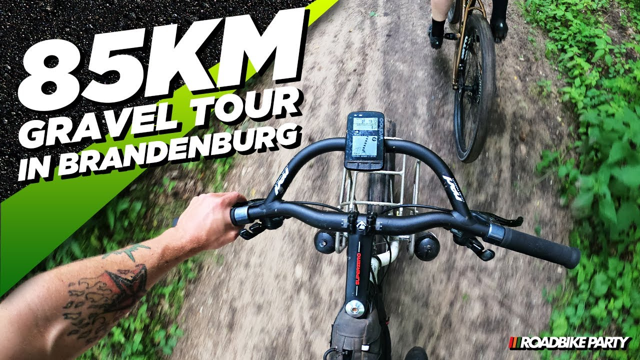 85KM GRAVEL TOUR IN BRANDENBURG | FAHRRADTOUR | ROADBIKE PARTY