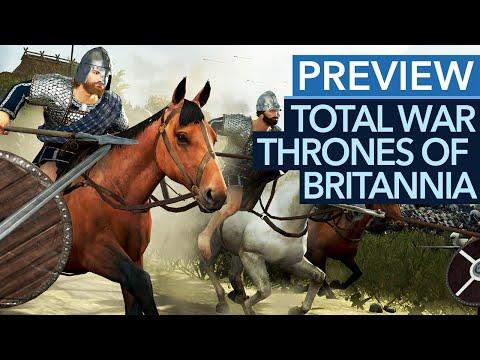 Vorschau-Video zu Total War: Thrones of Britannia - Zurück ins Mittelalter!