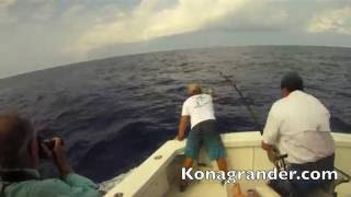 Kona Hawaii  Monkey Biz II Chip VanMols Pacific Blue Marlin estimated 850 pounds