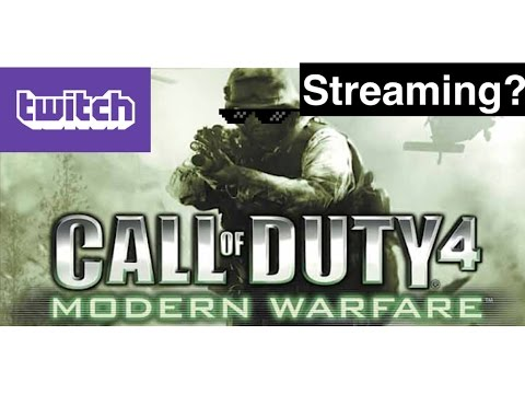 COD 4 Talking and Twitch Streaming CS GO?