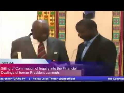 Gambia - Legal Practitioner, Musa Bittaye Testifies At The Commission Of Enquiry