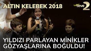 Altın Kelebek 2018: Yıldızı parlayan minikler gözyaşlarına boğuldu!