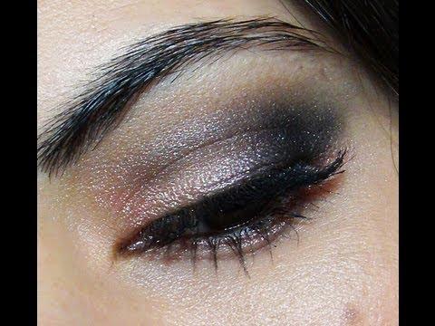 maquillaje ojos ahumados en rosa y negro para fiestas o noche por laura agudelo tutorial