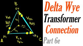 Introduction to the Delta Wye Transformer Connection Part 6e: Reading Transformer Nameplates
