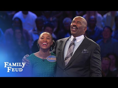 The Beards play Fast Money! | Family Feud