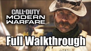 CALL OF DUTY: MODERN WARFARE (2019) Gameplay Walkthrough Part 1 Full Game PS4 PRO - No Commentary