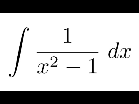 Integral Of 1x2 1 Partial Fraction Decomposition Youtube