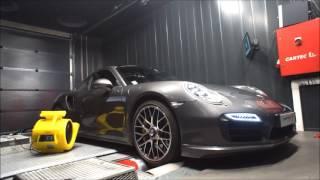 Reprogrammation moteur Porsche 911 991 Turbo S ShifTech