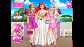 Мультик игра Принцессы Диснея: Свадьба Ариэль (Mermaid Princess Wedding Day)