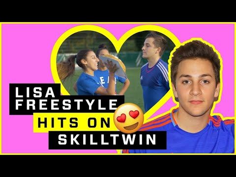 Download Youtube: SKILLTWINS GET KINKY? LISA FREESTYLE & CHAIMADAME GET CAKED!