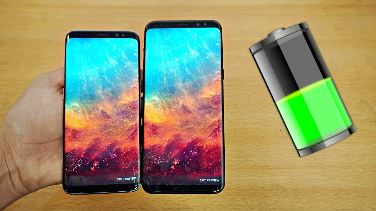 samsung galaxy s8 s8 plus battery life review 4k youtube. Black Bedroom Furniture Sets. Home Design Ideas
