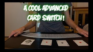 Advanced Card Switch: Card Trick Performance And Tutorial!