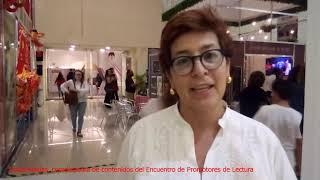 Nubia Macías, coordinadora de contenidos del Encuentro de Promotores de Lectura
