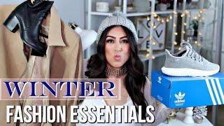 Winter Fashion Essentials: Staples + Trends 2016!
