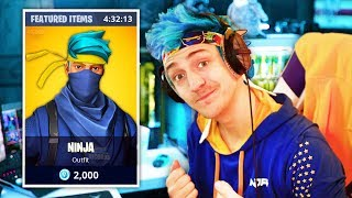 NINJA *LEAKED* HIS UPCOMING NINJA SKIN | Fortnite Daily Funny Moments Ep.245