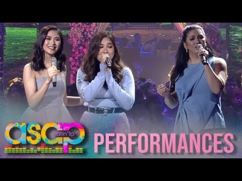ASAP Natin 'To: Regine and Sarah G sing with bride to be Moira Dela Torre