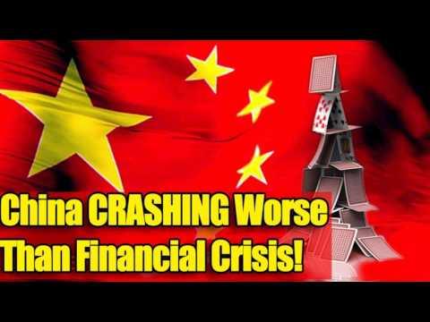 China CRASHING Worse Than Financial Crisis!