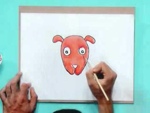 สอนศิลป์ตอนที่2 หุ่นมือถุงกระดาษ