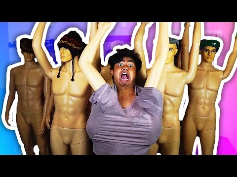 MANNEQUIN CHALLENGE! | With Real Mannequins