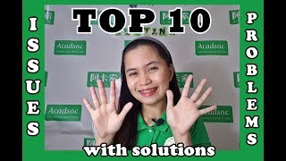 ESL teacher: Top 10 Issues and Problems with Solutions (Acadsoc)