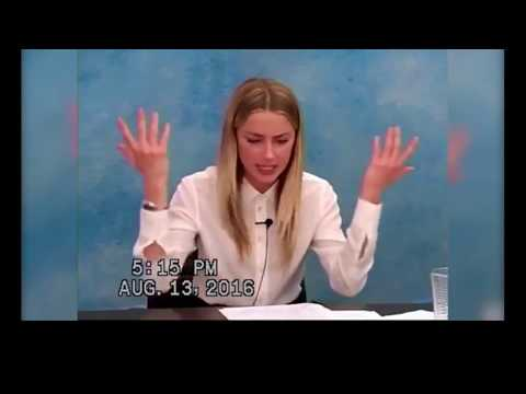 Amber Heard vs Johnny Depp: Comparison of Depositions