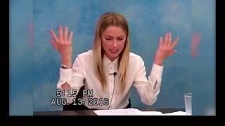 Amber Heard vs Johnny Depp: Comparison of Depositions