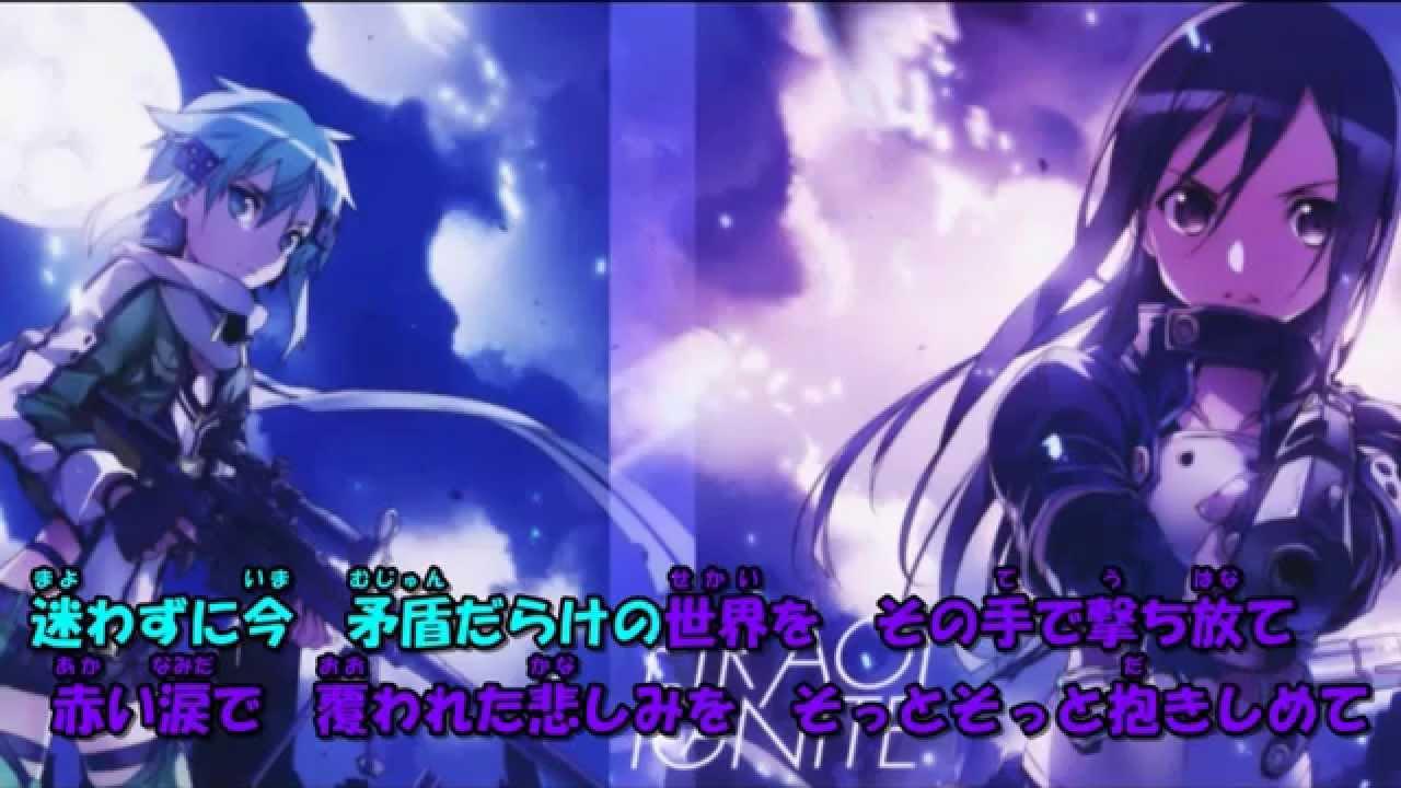「ソード・アート・オンラインⅡ」OP「IGNITE」/藍井 エイル 練習用カラオケ - YouTube