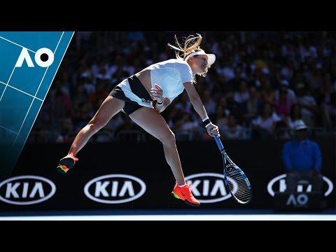 Peng v Bouchard match highlights (2R) | Australian Open 2017