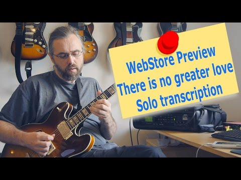 Webstore Preview: There is no greater love solo