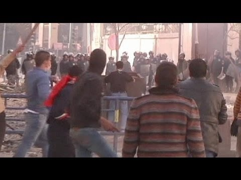 Violent protests after Egypt football tragedy - no comment