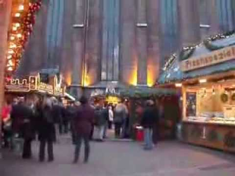 In Hannover auf dem Weihnachtsmarkt und in der Marktkirche Samstag den 21.12.2013