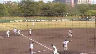 H25.5.4に明石トーカロ球場で開催された試合です。 7回裏 神戸国際の攻...