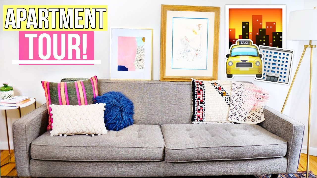 apartment tour 2017 550 sq ft nyc apartment youtube. Black Bedroom Furniture Sets. Home Design Ideas