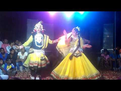Jhanki Radha Krishna Dance Jhula Jhulo Ri Radha Rani