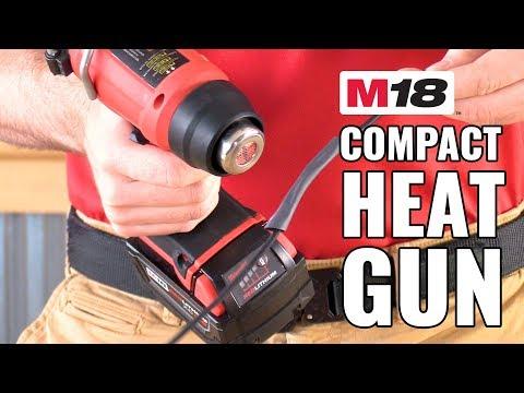 meilleur decapeur thermique sur batterie - 0 - Meilleur decapeur thermique sur batterie: Le Milwaukee M18