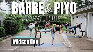 Barre & PiYO Fusion Workout | At Home Low Impact
