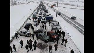 День жестянщика во Владивостоке: свыше 250 ДТП произошло из-за снегопада