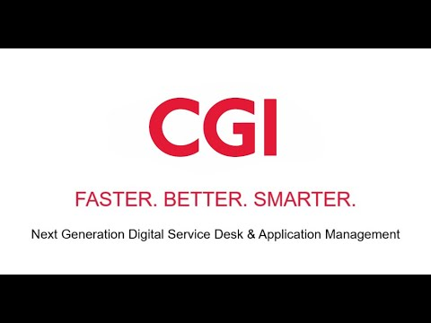 CGI AM Automation – Faster . Better . Smarter .