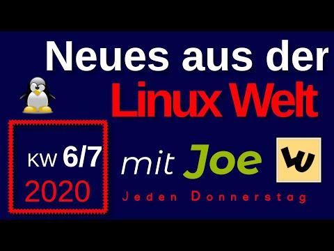 💻 Neues aus der Linux Welt - Mit Joe - KW 6/7-20 - Linux News Deutsch 💻 Linux Umsteiger