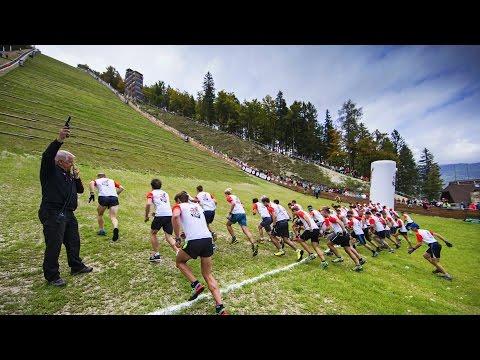 Intense 400m Vertical Running Race - Red Bull 400