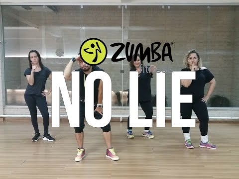 Sean Paul feat. Dua Lipa - No Lie -  Zumba (Dancehall)