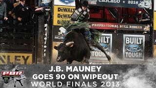 TOP RIDE: J.B. Mauney Rides Wipeout for 93 Points | 2013